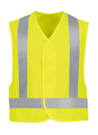 Red Kap Hi Visibility Safety Vest - Type R, Class 2