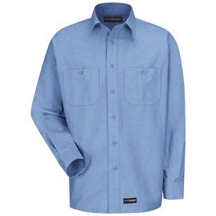 Wrangler Workwear Long Sleeve Shirt - Click for Large View