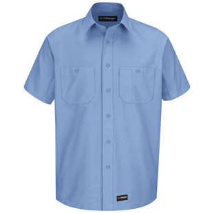 Wrangler Workwear Short Sleeve Shirt - Click for Large View