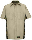Wrangler Workwear Short Sleeve Camo Work Shirt