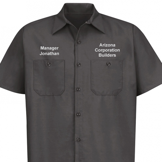 Direct Text Embroidery E Direct Embroidery Dickies Automotive