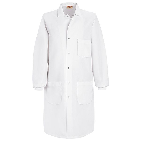 fe3c02bf7ec Red Kap Unisex Specialized Cuffed White Lab Coats | KP70-72