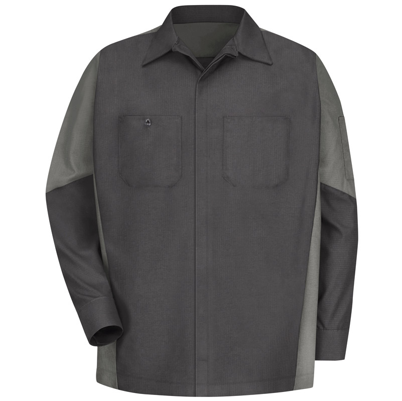 Red Kap Men s Long Sleeve Mechanics Crew Shirt. Enlarge e1b0e0912a0