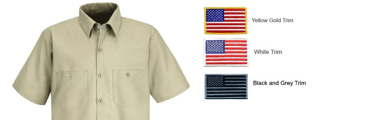 American flag emblem e american flag emblem for Proper placement of american flag