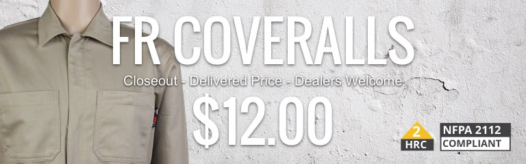 Flame Resistant Coverall Sale